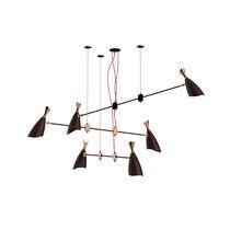 Original design chandelier / metal / incandescent