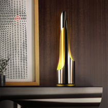 Table lamp / contemporary / steel / brass