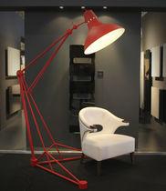 Floor-standing lamp / contemporary / aluminum / steel