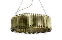 Pendant lamp / original design / brass