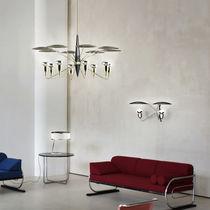 Contemporary chandelier / aluminum / brass / steel