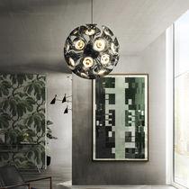 Pendant lamp / original design / steel / brass