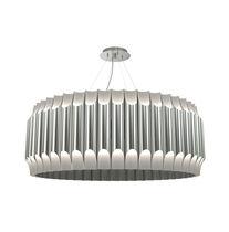 Pendant lamp / contemporary / steel / golden