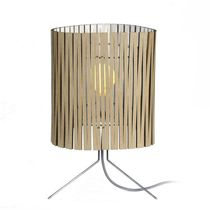 Table lamp / contemporary / steel