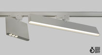 LED track lights / rectangular / extruded aluminum / commercial