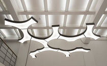 Pendant lamp / original design / aluminum / LED