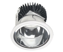 Recessed downlight / LED / round