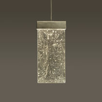 Pendant lamp / contemporary / glass / LED