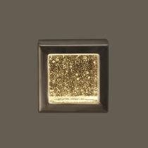 Contemporary wall light / outdoor / glass / brass