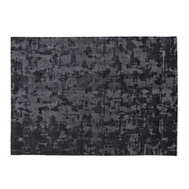 Contemporary rug / patterned / silk / rectangular