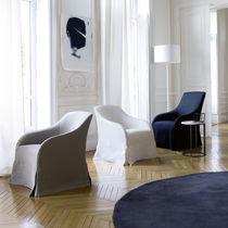 Contemporary armchair / fabric / by Antonio Citterio