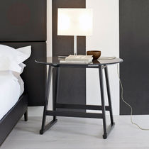 Contemporary side table / wooden / round / by Antonio Citterio