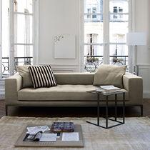 Contemporary sofa / leather / fabric / by Antonio Citterio