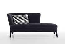 Contemporary daybed / leather / indoor / by Antonio Citterio