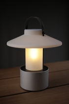 Portable lamp / contemporary / stainless steel / Plexiglas®