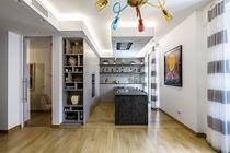 Contemporary kitchen / laminate