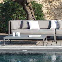 Modular sofa / contemporary / garden / aluminum
