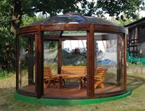 Timber gazebo / for wellness centers