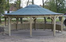 Nursery gazebo / for playgrounds