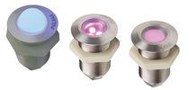 Recessed spotlight / outdoor / LED / round