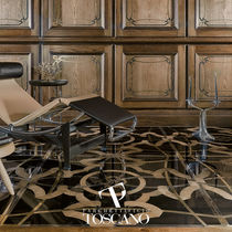 Marble flooring / residential / tile / textured