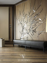 Decorative panel / wood / for interior fittings