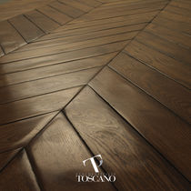 Engineered parquet flooring / glued / oiled