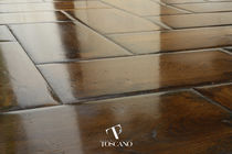 Engineered parquet flooring / glued / oiled / FSC-certified