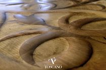Solid parquet flooring / oak / oiled