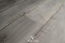 Engineered parquet flooring / oak / aged