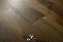 Engineered parquet flooring / glued / walnut / oiled