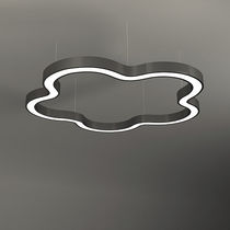 Hanging light fixture / LED / aluminum / plastic