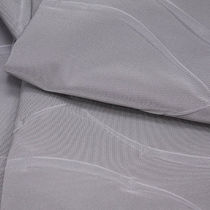 Upholstery fabric / patterned / polyester / contract