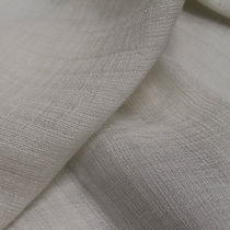 Upholstery fabric / plain / linen / silk