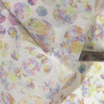 Curtain fabric / patterned / cotton / polyester