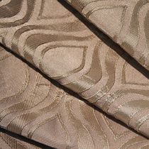 Curtain fabric / patterned / polyester / contract