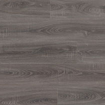 Wooden laminate flooring / floating / wood look / commercial