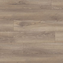 MDF laminate flooring / glued / wood look / commercial