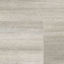 MDF laminate flooring / floating / wood look / residential