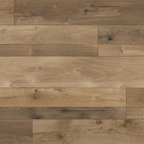 Wooden laminate flooring / floating / wood look / residential