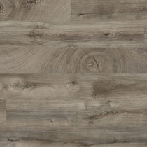HDF laminate flooring / floating / wood look / residential