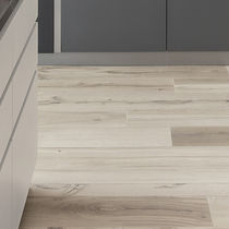 Natural cork flooring / commercial / tile / high-gloss