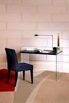 Contemporary dining chair / upholstered / beech