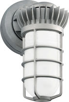 Contemporary wall light / garden / cast aluminum / lantern