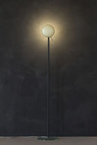 Floor-standing lamp / contemporary / aluminum / painted aluminum