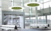 Pendant lamp / contemporary / aluminum / color-changing