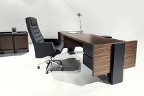 Executive desk / wooden / contemporary / commercial
