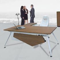 Executive desk / wooden / metal / contemporary