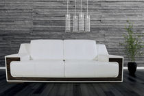 Contemporary sofa / fabric / for public buildings / 2-seater