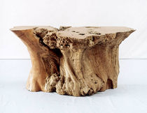 Contemporary sideboard table / wooden